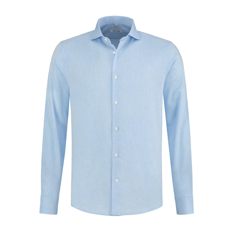 c7dab4a8fa48 SUNDRE BLUE - NØLSON shirts