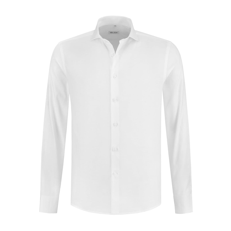 09977c74b91f SUNDRE White - NØLSON shirts